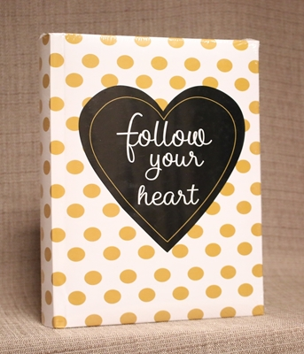 "FOTO ALBUMS ""FOLLOW YOUR HEART"""